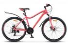 Велосипед 26' рама женская, алюминий STELS MISS-6000 MD диск, розовый, 21 ск., 15'