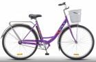 Велосипед 28' городской, рама женская STELS NAVIGATOR-345 LADY фиолетовый, 1 ск., 20' Z010 LU085343