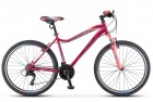 Велосипед 26' рама женская STELS MISS-5000 V вишнево-розовый, 21 ск., 18' (2021) LU096326