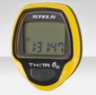 Велокомпьютер Thita-3 желтый, 10 функций