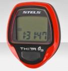 Велокомпьютер Thita-3 красный, 10 функций