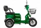 Электроскутер 3-х колесный (трицикл) RUTRIKE S2 V2 трансформер Зеленый-0877