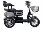 Электроскутер 3-х колесный (трицикл) RUTRIKE S2 V3 Черный-1895
