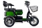 Электроскутер 3-х колесный (трицикл) RUTRIKE S2 V3 Зеленый-1896