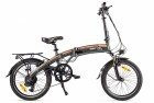 Электровелосипед 2-х колесный (велогибрид) Eltreco LETO orange-2008