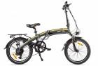 Электровелосипед 2-х колесный (велогибрид) Eltreco LETO yellow-2009