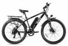 Электровелосипед 2-х колесный (велогибрид) Eltreco XT 750 black-1918