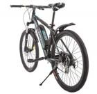 Электровелосипед 2-х колесный (велогибрид) KUPPER Unicorn blue-black-0200