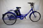 Электровелосипед 3х-колесный Иж-Байк Фермер 24', 250 W, 36B/12Ah Li-ion, синий металлик