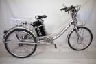 Электровелосипед 3х-колесный Иж-Байк Фермер 24', 250 W, 36В/12Ah гелиевая, серебристый