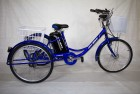 Электровелосипед 3х-колесный Иж-Байк Фермер 24', 250 W, 36В/12Ah гелиевая, синий металлик