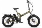 Электровелосипед 2-х колесный (велогибрид) Eltreco TT Max ХАКИ-2226