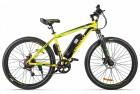 Электровелосипед 2-х колесный (велогибрид) Eltreco XT 600 Желто-черный-2126