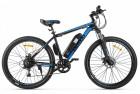 Электровелосипед 2-х колесный (велогибрид) Eltreco XT 600 Черно-синий-2129