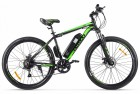 Электровелосипед 2-х колесный (велогибрид) Eltreco XT 600 Черно-зеленый-2130