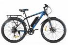Электровелосипед 2-х колесный (велогибрид) Eltreco XT 800 NEW Черно-синий-2135