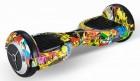 Гироскутер SMART BALANCE 10' до 16 км/ч/до 22 км, WHEELL purple multicolor, заряд 120 мин