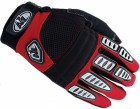 Перчатки ZAM-007 красно-бело-черные, L