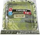 Тарелка бумажная BOYSCOUT 23*23см, 6шт. 61701